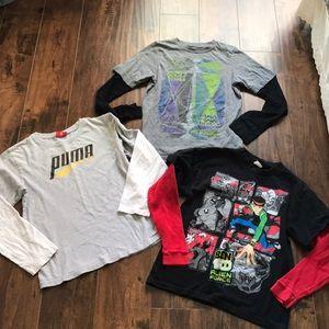 Puma Shirts & Tops - Boys long sleeve tee bundle